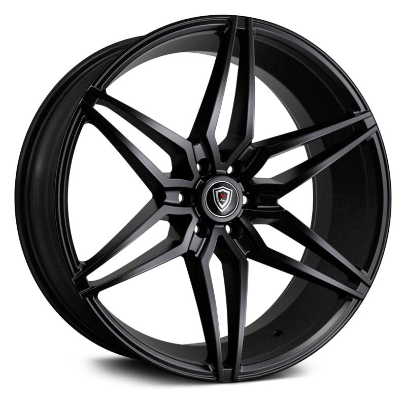 22x9.5 Marquee Luxury M3259A Satin Black MID