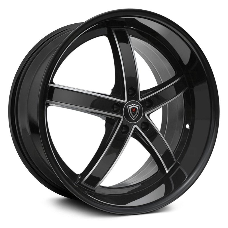 M5330A Gloss Black Machined