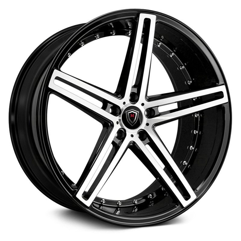 M5334 Gloss Black Machined