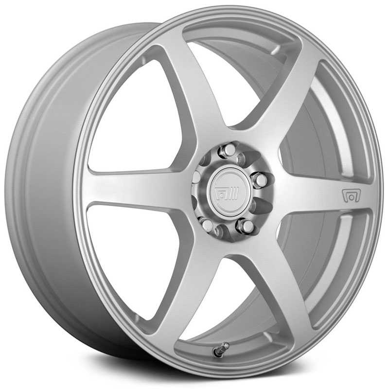 16x7 Motegi MR143 CS6 Hyper Silver HPO