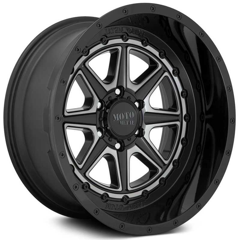 Moto Metal MO801 Phantom  Wheels Gloss Black w/ Gray Tint
