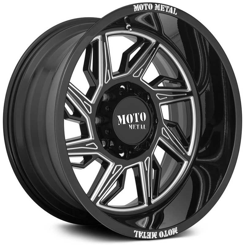 Moto Metal MO997 Hurricane  Wheels Gloss Black Milled