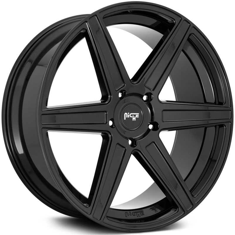 Niche M237 Carina  Wheels Gloss Black
