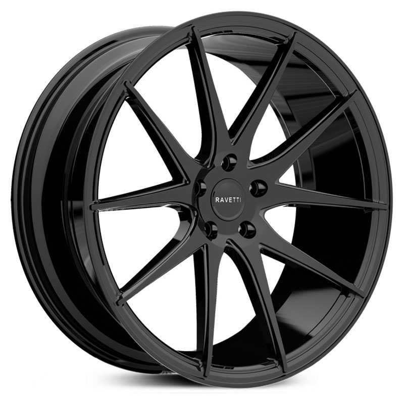 Ravetti M11  Wheels Gloss Black