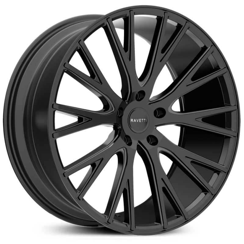 Ravetti M12  Wheels Satin Black