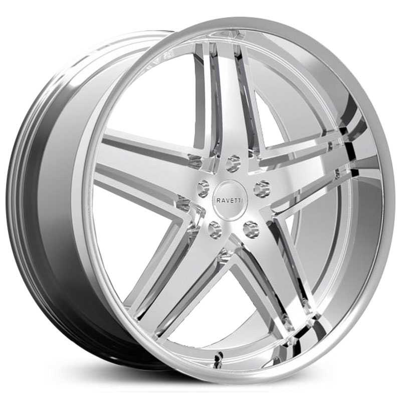 Ravetti M6  Wheels Chrome