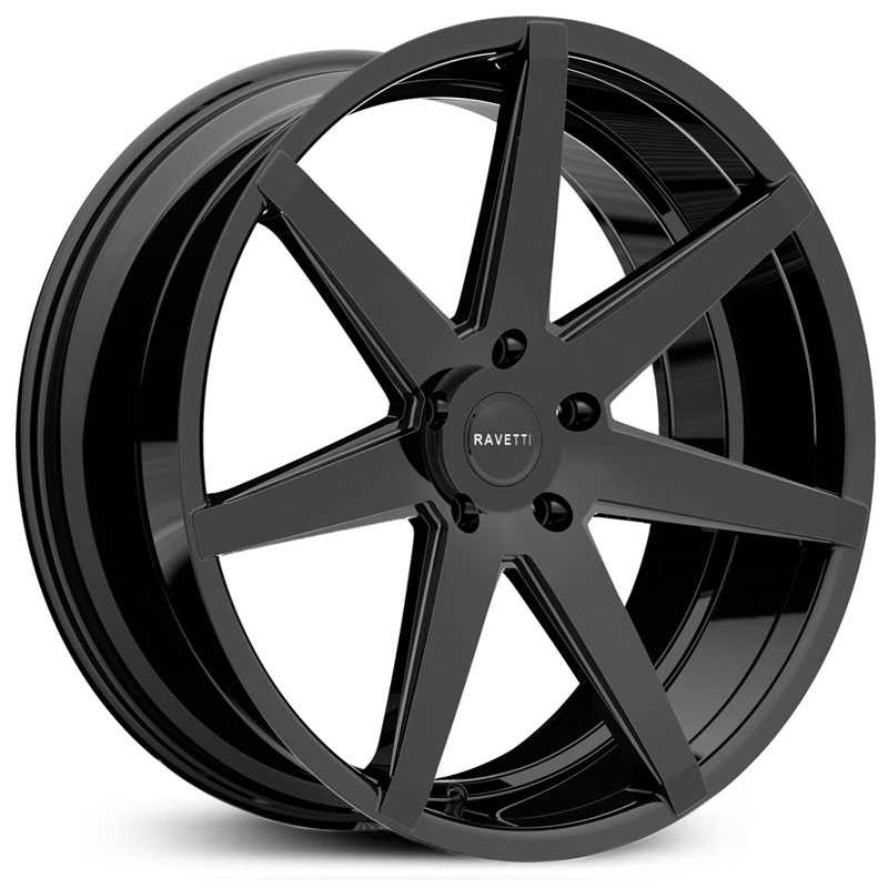 Ravetti M7  Wheels Gloss Black