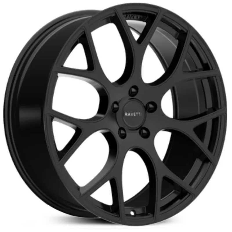 Ravetti M8  Wheels Satin Black