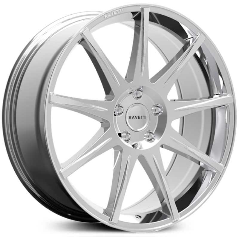 Ravetti M9  Wheels Chrome