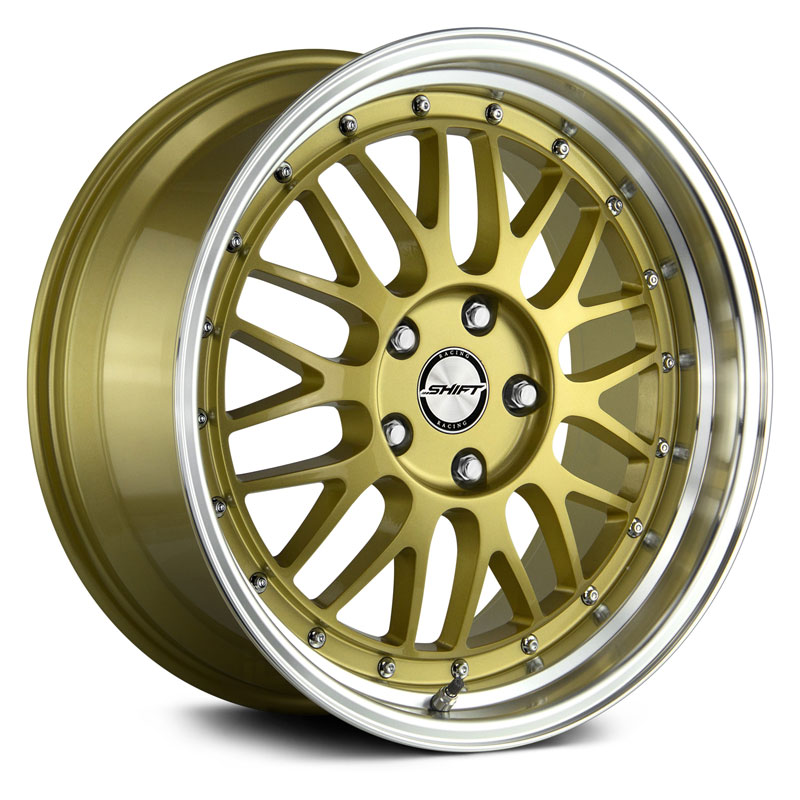 flywheel Gold Polished Lip