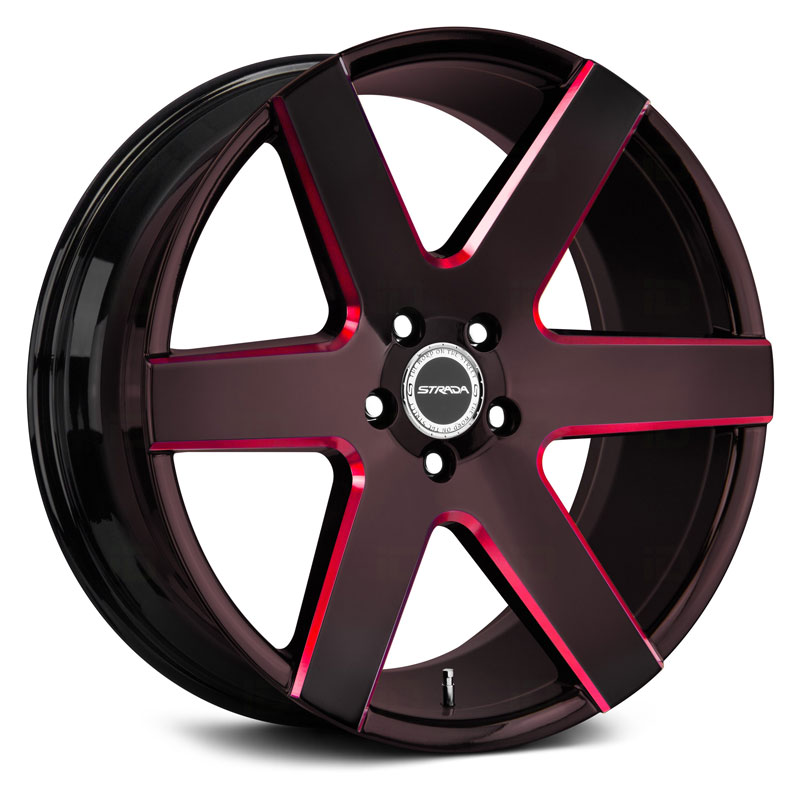 Coda Gloss Black Candy Red Milled