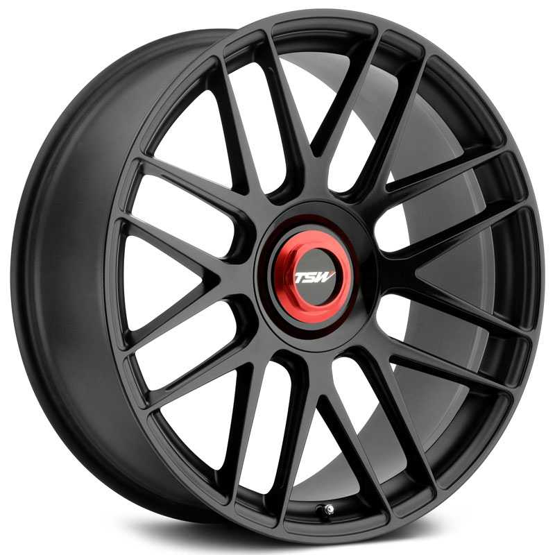 Hockenheim-T Double Black w/ Milled Spokes