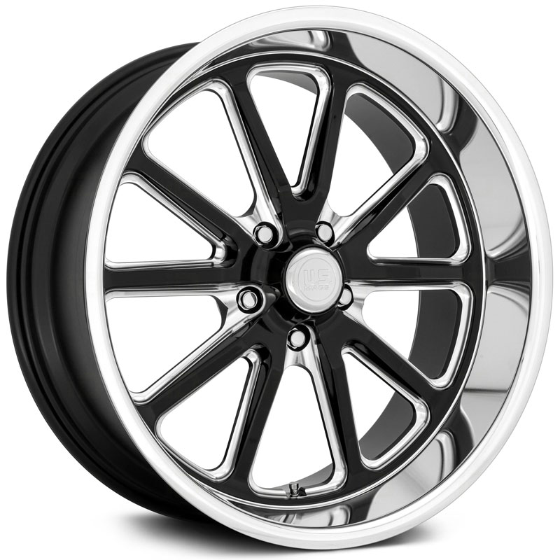 US Mags Rambler U117  Wheels Gloss Black Milled