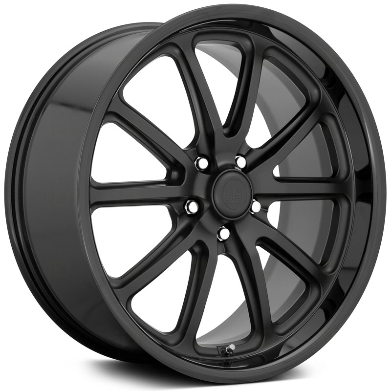 US Mags Rambler U123  Wheels Two Tone Black