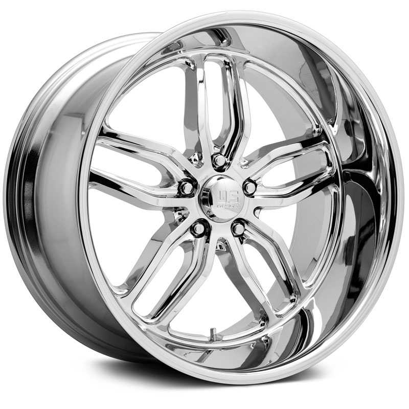 US Mags U127 CTEN  Wheels Chrome