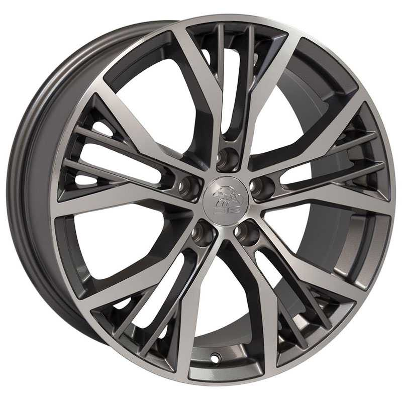 Volkswagen Volkswagen GTI VW28  Wheels Gunmetal Machined Face
