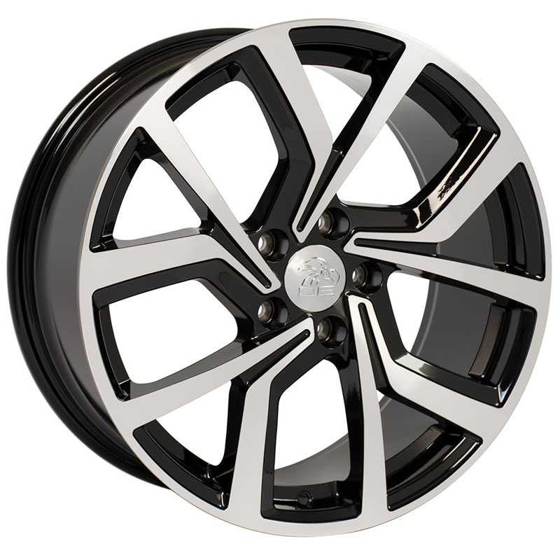 Volkswagen Volkswagen GTI VW29  Wheels Black Machined Face