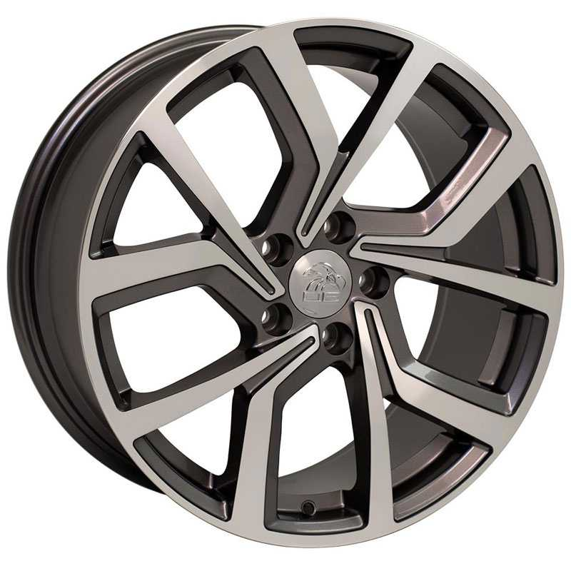 Volkswagen Volkswagen GTI VW29  Wheels Gunmetal Machined Face