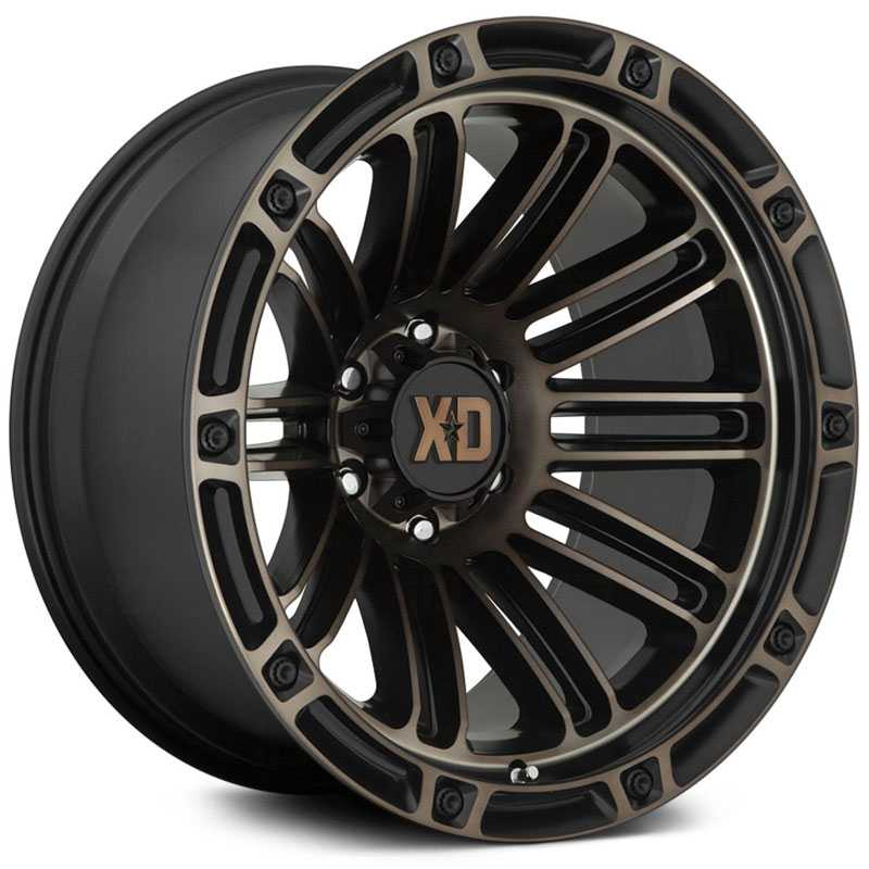 XD846 Double Deuce Satin Black w/ Dark Tint