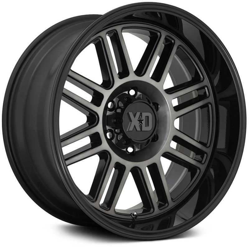 XD Series XD850 Cage  Wheels Gloss Black w/ Gray Tint