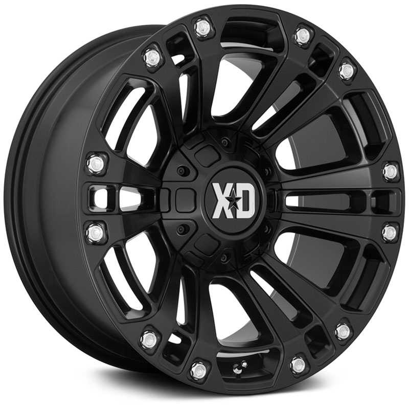 XD851 Monster 3 Satin Black