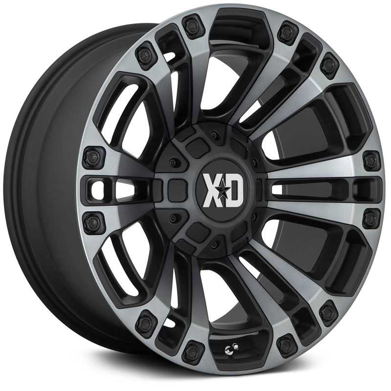 XD851 Monster 3 Satin Black w/ Gray Tint