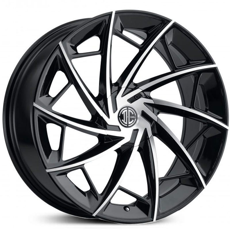 2Crave 2Crave No.36  Wheels Gloss Black Machined Face