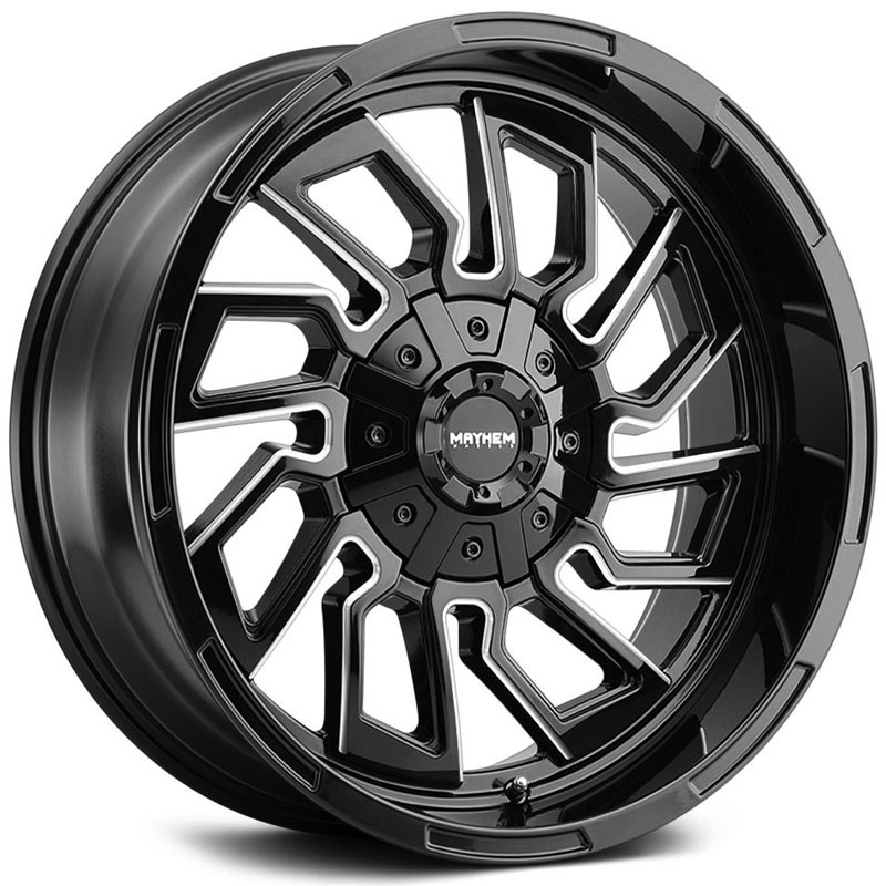 Flywheel 8111 Gloss Black Milled Spokes