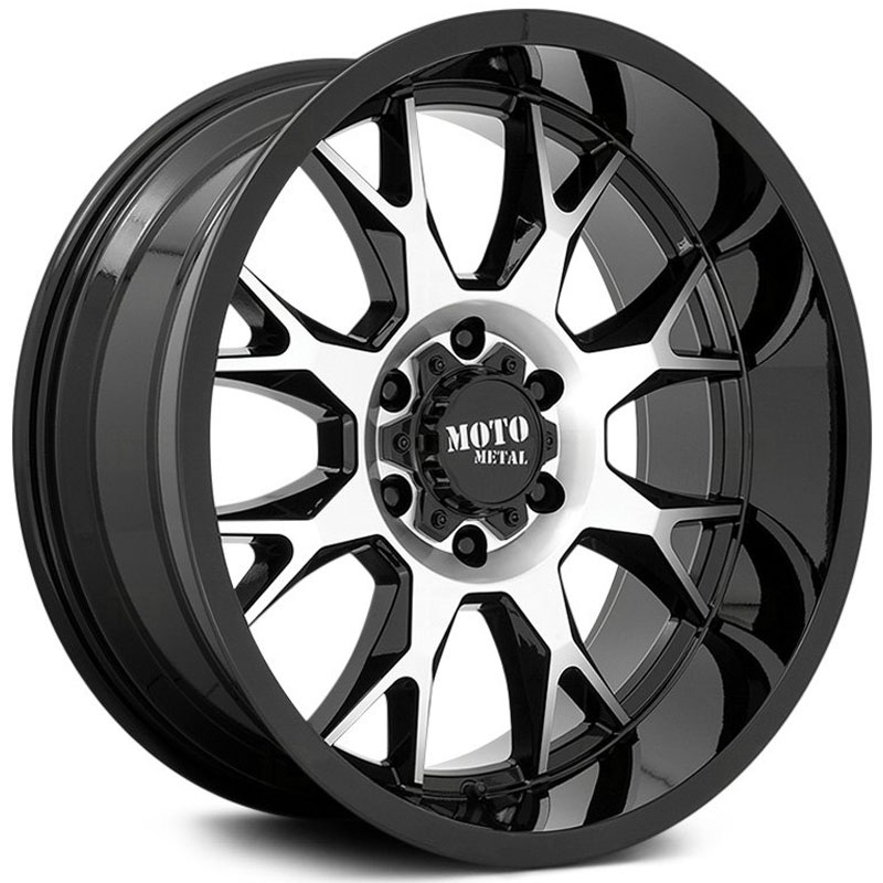 MO806 Talon Gloss Black Machined