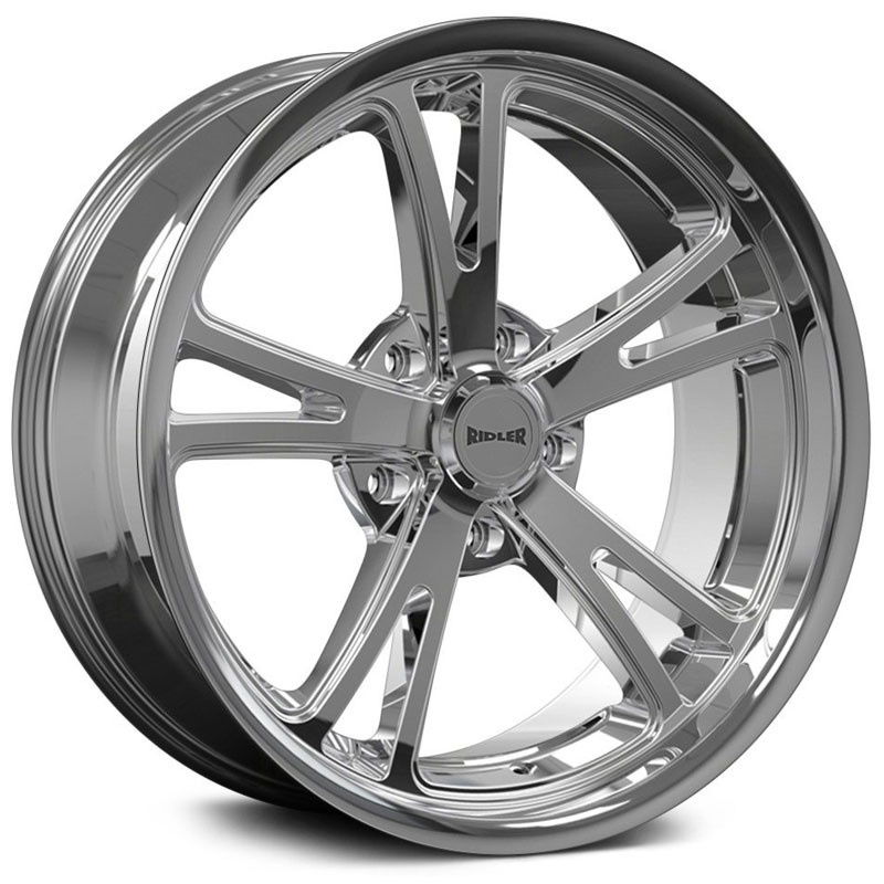 Ridler Style 606  Wheels Chrome