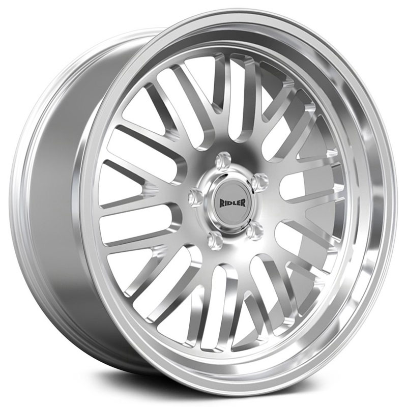 Ridler Style 607  Wheels Polished