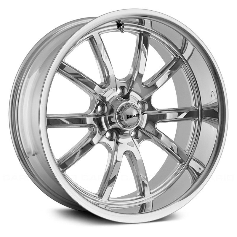 Ridler Style 650  Wheels Chrome