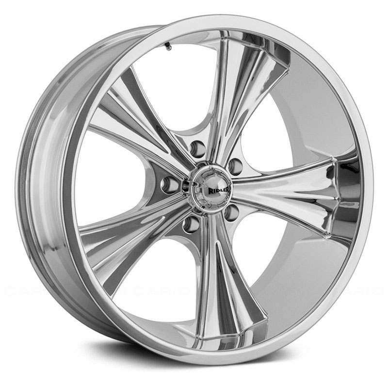 Ridler Style 651  Wheels Chrome
