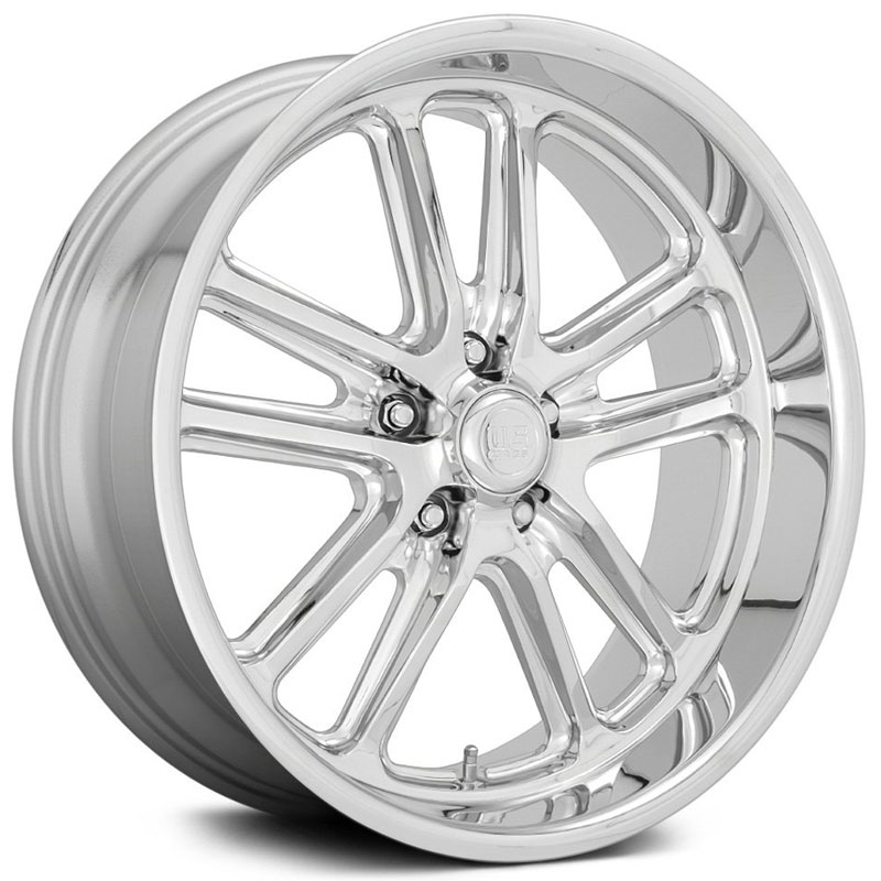 US Mags U131 Bullet  Wheels Chrome