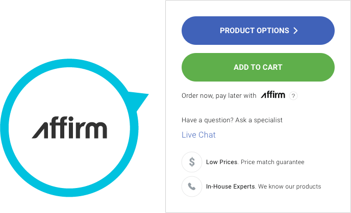 Affirm - order now pay later